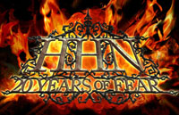 HHN: 20 Years of Fear Logo | HHN XX 2010