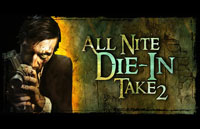 All Nite Die-In Take 2 Logo | HHN 16: Sweet 16 2006