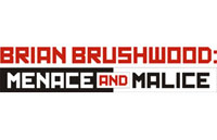 Brian Brushwood: Menace & Malice Logo | HHN XX 2010