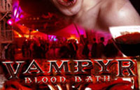 Vampyr: Blood Bath Logo | HHN XVII 2007