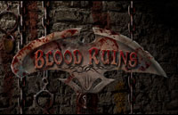 Blood Ruins Logo | HHN XV 2005