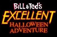 Bill & Ted's Excellent Halloween Adventure Logo | HHN 13 2003
