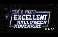 Bill & Ted's Excellent Halloween Adventure Logo | HHN XII 2002