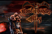 Blood Thunder Alley Logo | HHN XV 2005