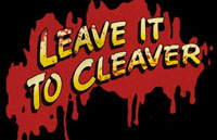 Leave it to Cleaver Logo | HHN XIX 2009