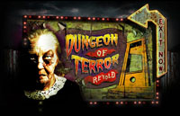 Dungeon of Terror Retold Logo | HHN 16: Sweet 16 2006