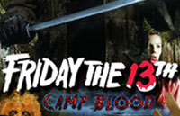 Friday the 13th: Camp Blood Logo | HHN XVII 2007