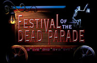 Festival of the Dead Parade Logo | HHN XIV 2004