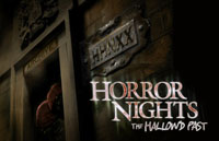 Horror Nights: The Hallow'd Past Logo | HHN XX 2010