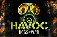 Havoc: Dogs of War Logo | HHN XX 2010