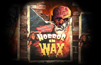 Horror in Wax Logo | HHN XIV 2004