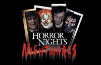 Horror Nights Nightmares Logo | HHN XIV 2004