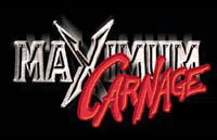 Maximum Carnage Logo | HHN XII 2002