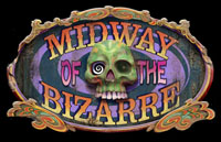 Midway of the Bizarre Logo | HHN XIV 2004