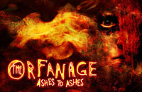 The Orfanage: Ashes to Ashes Logo | HHN XX 2010