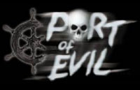 Port of Evil Logo | HHN XII 2002