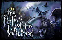 Path of the Wicked Logo | HHN XVIII 2008
