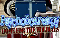 PsychoScareapy: Home for the Holidays Logo | HHN XVII 2007
