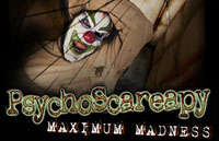 PsychoScareapy: Maximum Madness Logo | HHN 16: Sweet 16 2006