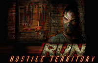 RUN: Hostile Territory Logo | HHN 16: Sweet 16 2006