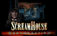 Scream House: Resurrection Logo | HHN 16: Sweet 16 2006