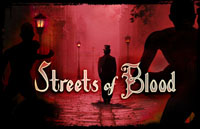 Streets of Blood Logo | HHN XVIII 2008