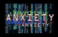 Anxiety 3-D Logo | HHN X 2000