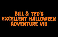 Bill & Ted's Excellent Halloween Adventure Logo | HHN IX 1999