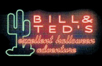Bill & Ted's Excellent Halloween Adventure Logo | HHN X 2000