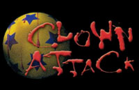 Clown Attack Logo | HHN X 2000