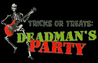 Deadman's Party Logo | HHN IX 1999