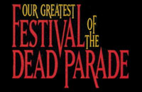 Festival of the Dead Parade Logo | HHN IX 1999
