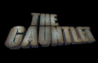 The Gauntlet Logo | HHN X 2000