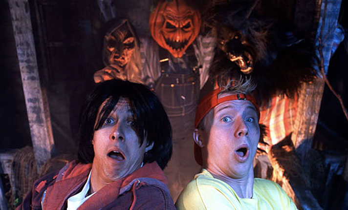 Dude! Bill and Ted show debuts, most excellent!