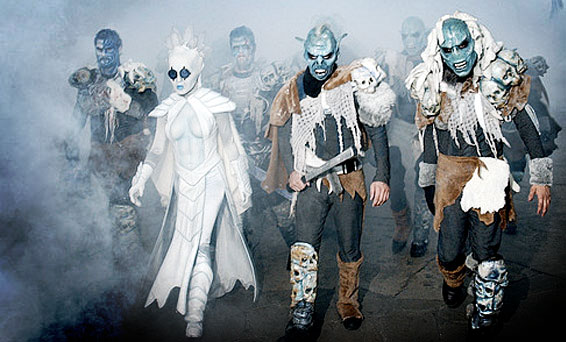 HHN 13 | The Ice Queen and Guardian Orcs