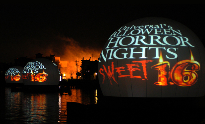 "Horror ""leaks"" into the USF lagoon as The Director's Cut played nightly on the Lagoon 360 show..."