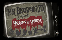 H.R. Bloodengutz: Holidays of Horror Logo | HHN 21 2011