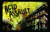 Acid Assault Logo | HHN 21 2011