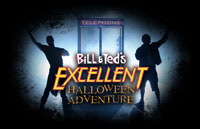 Bill & Ted's Excellent Halloween Adventure Logo | HHN 21 2011