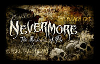 Nevermore: Madness of Poe Logo | HHN 21 2011
