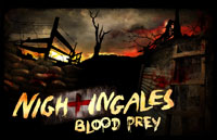 Nightingales: Blood Prey Logo | HHN 21 2011