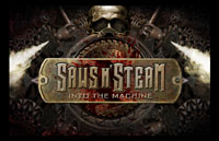 Saws n' Steam: Into t he Machine Logo | HHN 21 2011