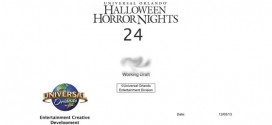 HHN 24… Cover Page for Maze 1