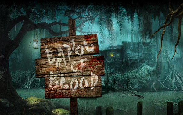 Bayou of Blood Logo | HHN 24 2014
