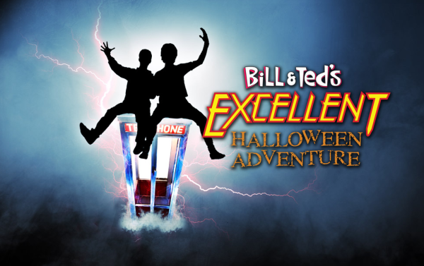 Bill & Ted's Excellent Halloween Adventure Logo | HHN 24 2014