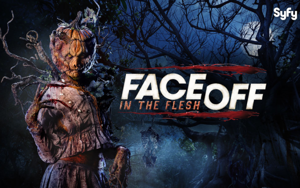 Face Off: In the Flesh Logo | HHN 24 2014