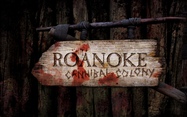 Roanoke: Cannibal Colony Logo | HHN 24 2014
