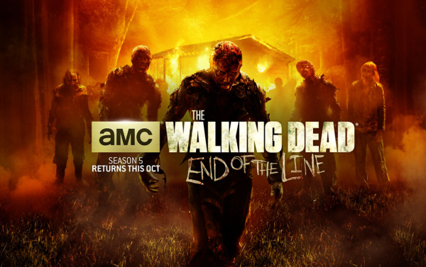 Walking Dead: End of the Line Logo | HHN 24 2014