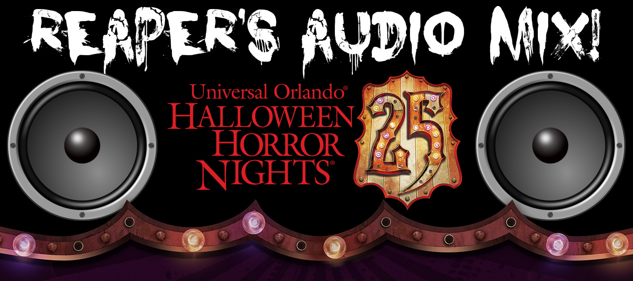 Reaper's HHN 25 Audio Mix
