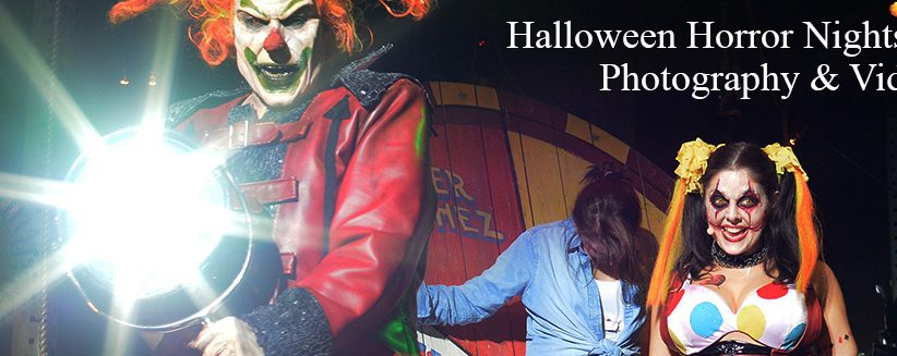 Halloween Horror Nights Photography & Videography